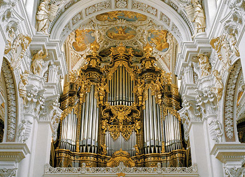 Passau Stephan Cathedral, Germany