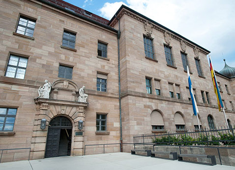 Nuremberg Palace of Justice, Germany