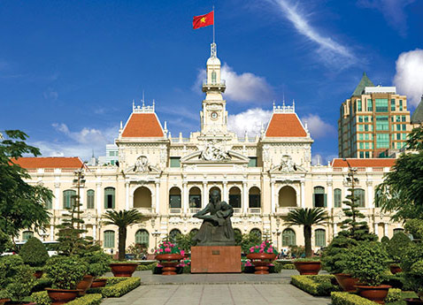 Grand City Hall, Ho Chi Minh City, Vietnam