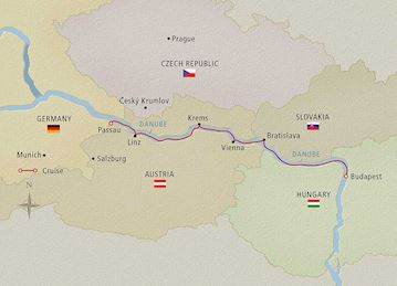Danube Waltz Map