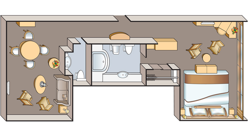 Explorer Suite floorplan on MS Antares