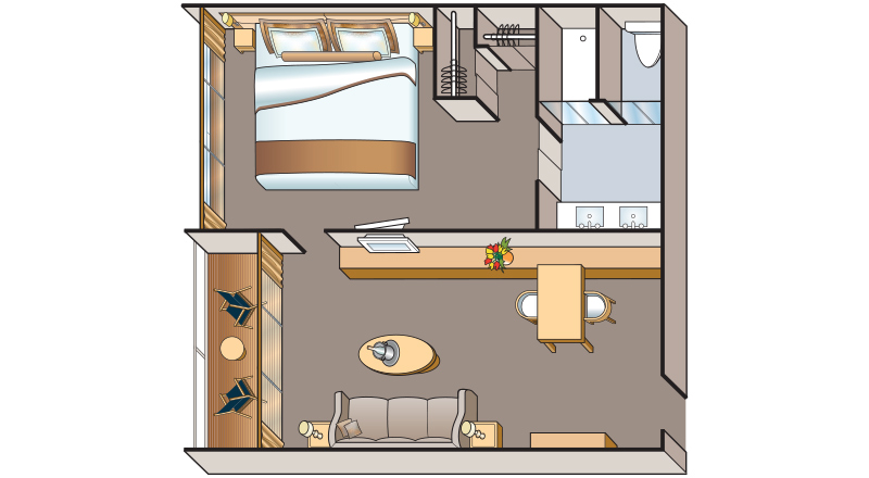 Viking Osiris Suite Floor plan