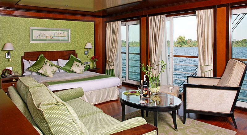 Deluxe French Balcony Suite on board MS Antares