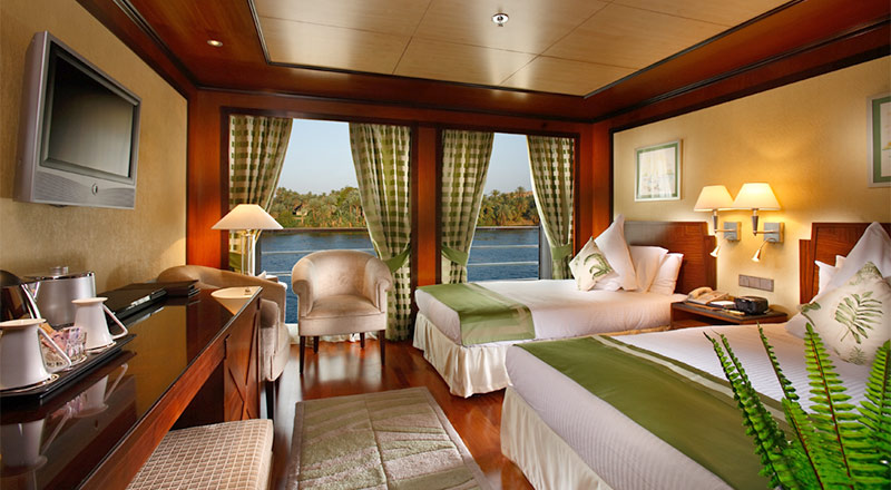 Junior Suite stateroom on the MS Antares ship