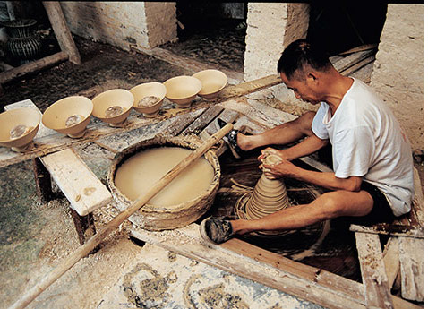 Jingdezhen Ceramicist, China