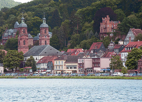 Miltenberg Riverside, Germany
