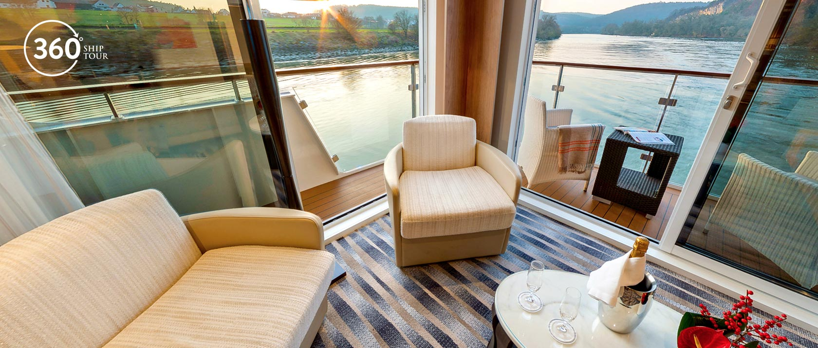 About Our Longships Viking River Cruises