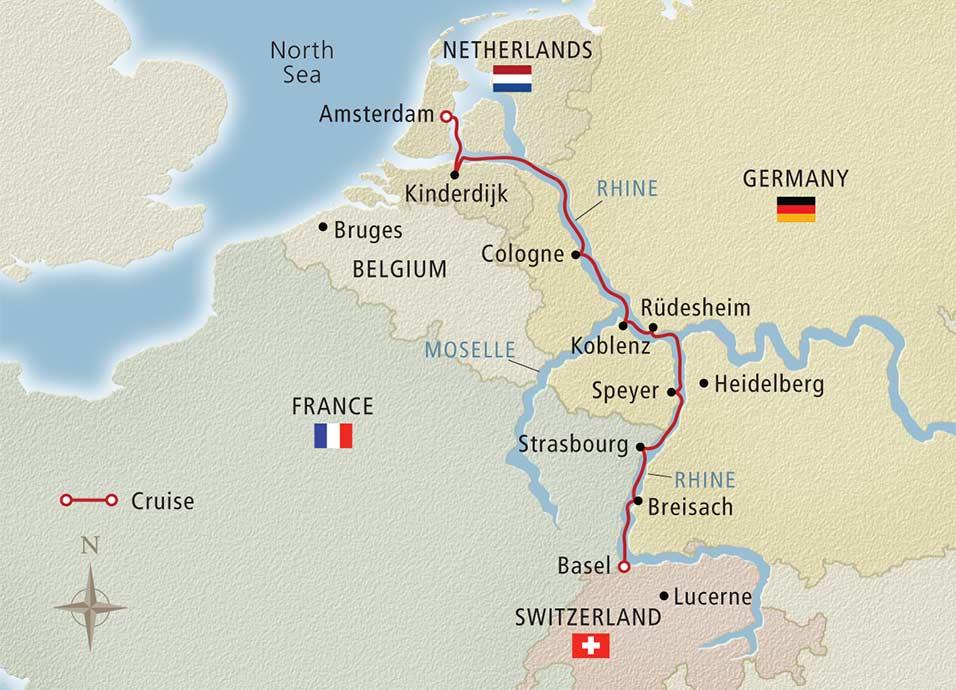 Rhine River Cruises Viking River Cruises