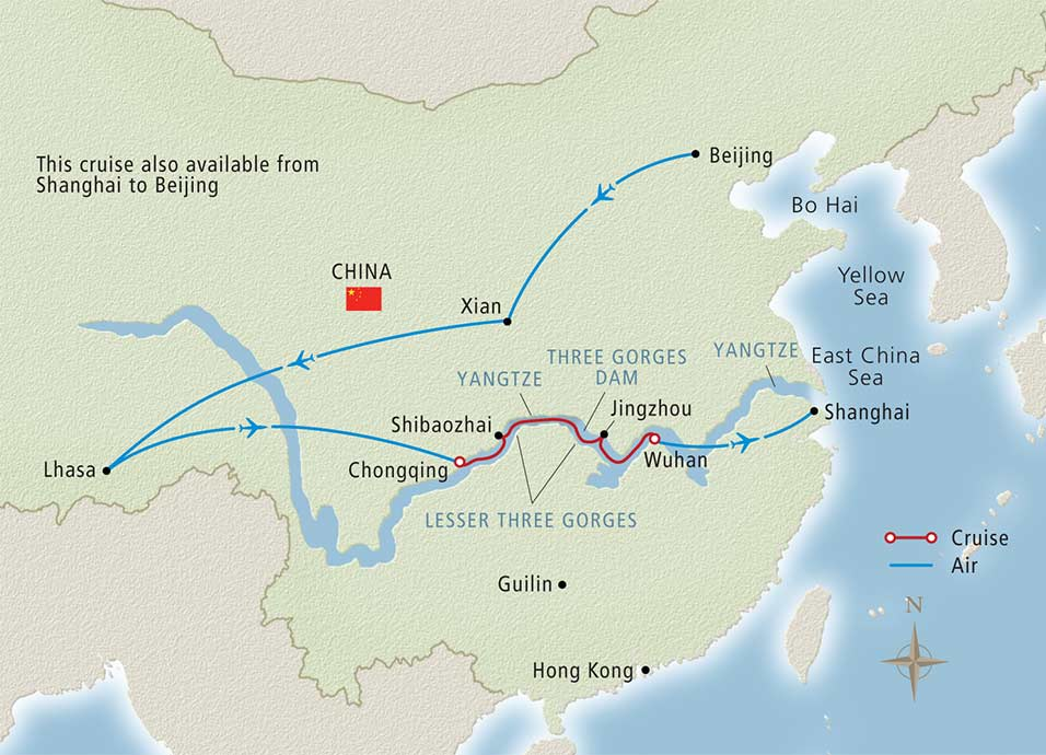 Roof of the World Yangtze River Cruise - Beijing-Shanghai 2020  Map Of Shanghai on 2015 map of london, 2015 map of asia, 2015 map of singapore,
