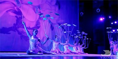 Acrobats performing in Shanghai, China