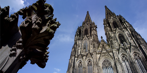 Exterior view of the Cologne Cathedral